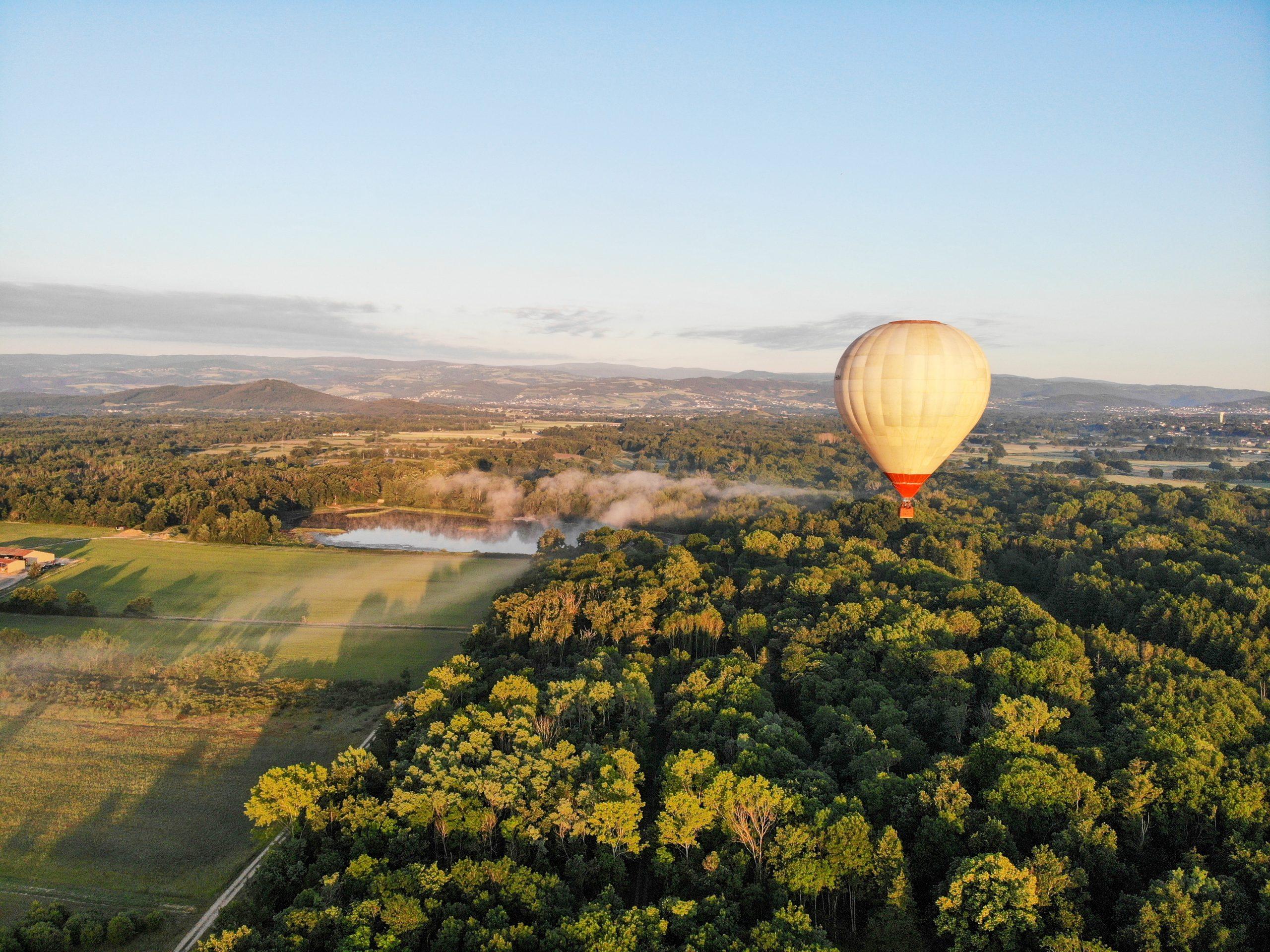 forez montgolfière